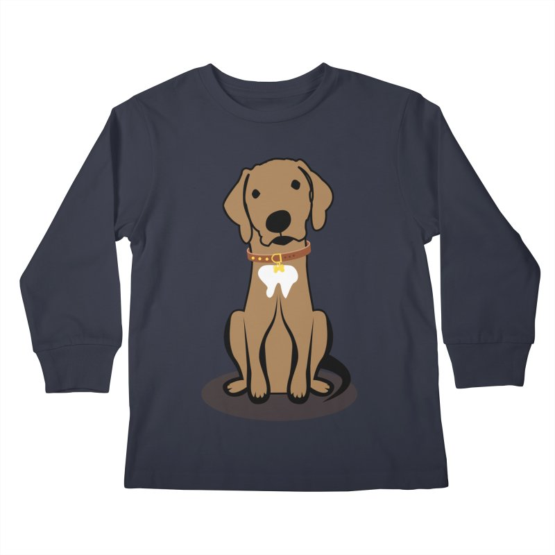 MILO the DOG Kids Longsleeve T-Shirt by CBHstudio's Artist Shop