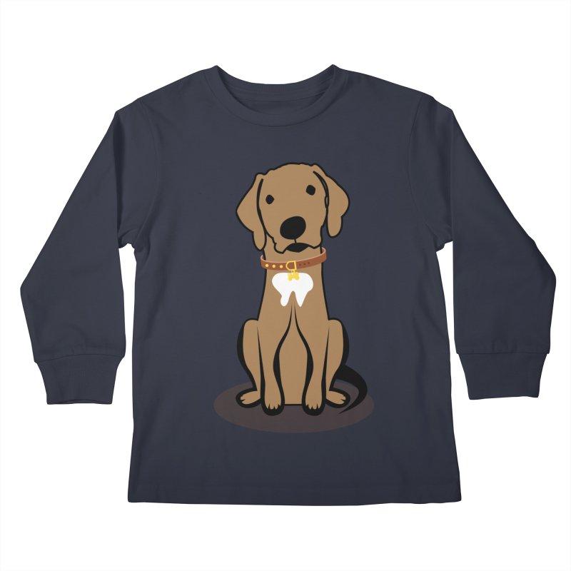 MILO the DOG Kids Longsleeve T-Shirt by CBHstudio's Artist Shop