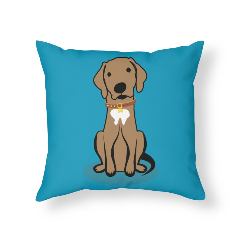 MILO the DOG in Throw Pillow by CBHstudio's Artist Shop