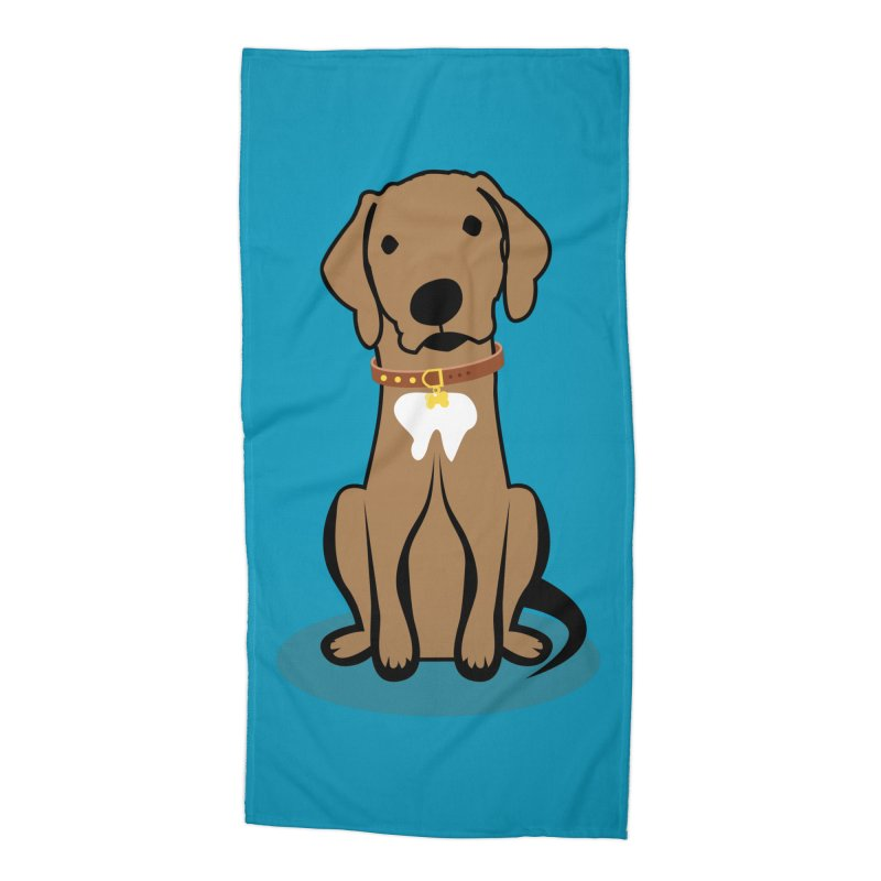 MILO the DOG Accessories Beach Towel by CBHstudio's Artist Shop