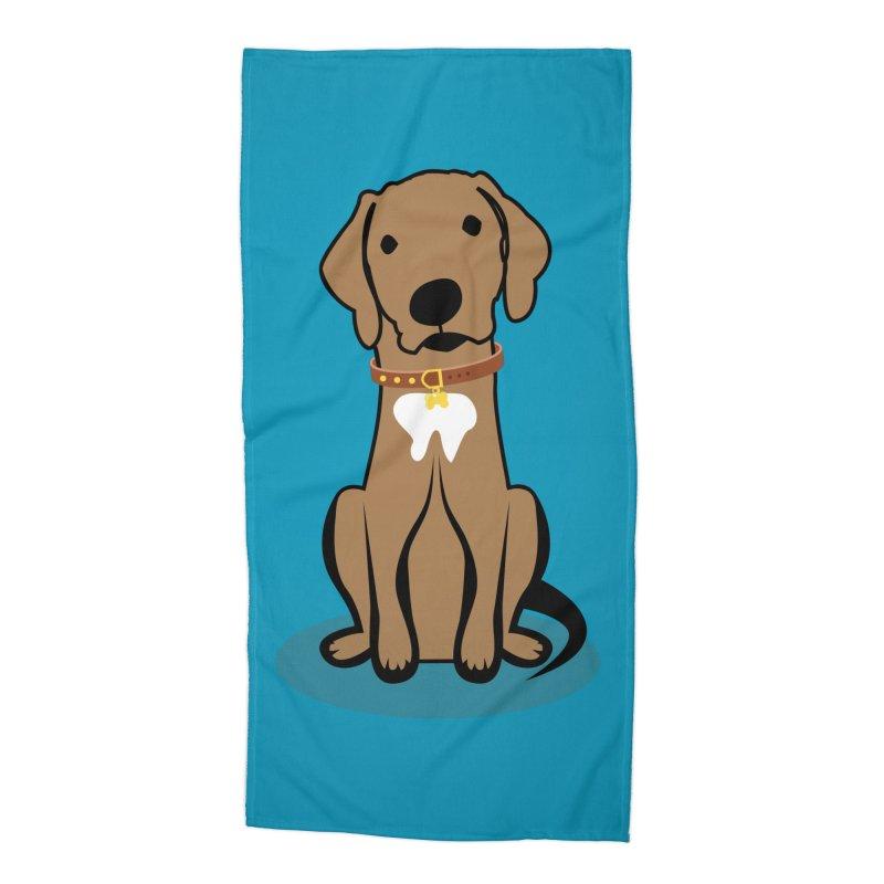 MILO the DOG Accessories Beach Towel by CBHstudio's Artist Shop