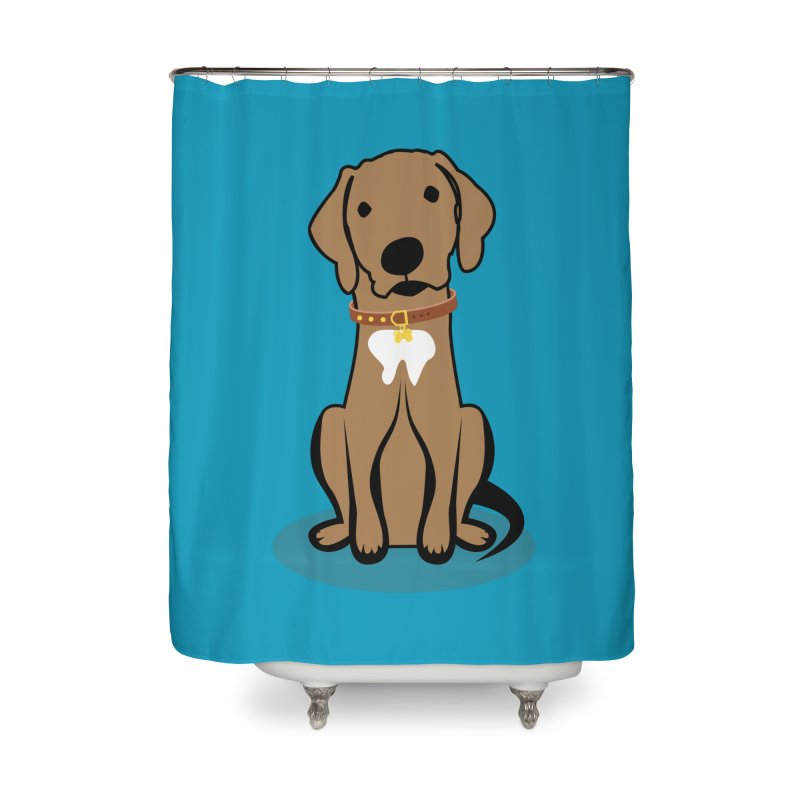 MILO the DOG Home Shower Curtain by CBHstudio's Artist Shop
