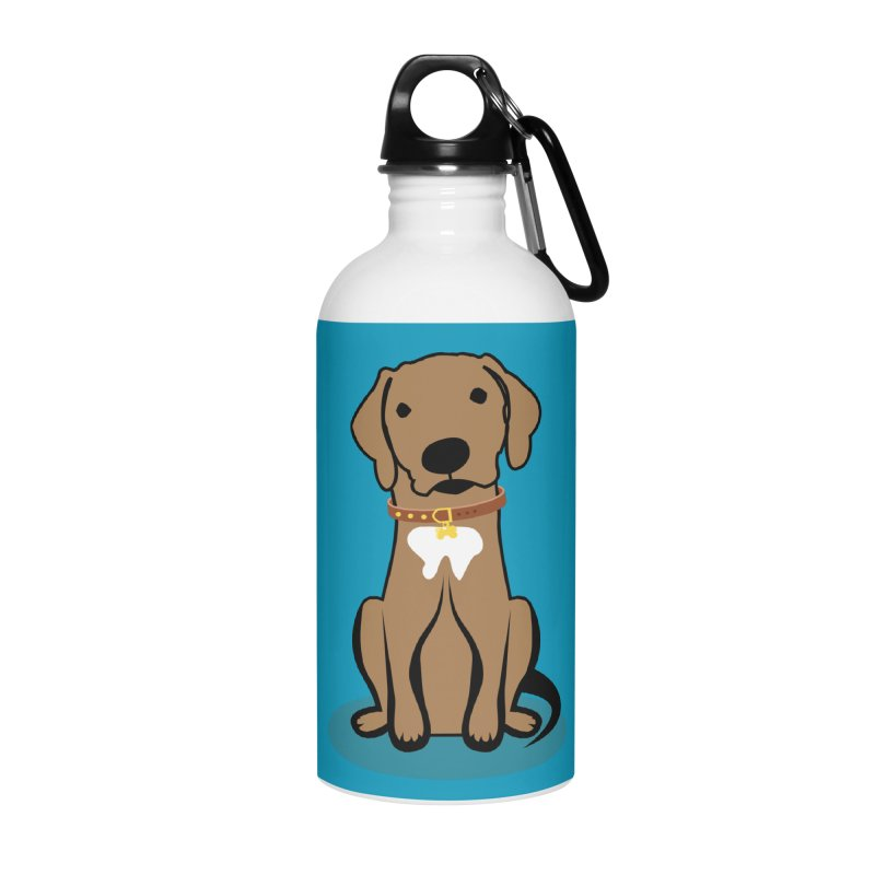 MILO the DOG Accessories Water Bottle by CBHstudio's Artist Shop