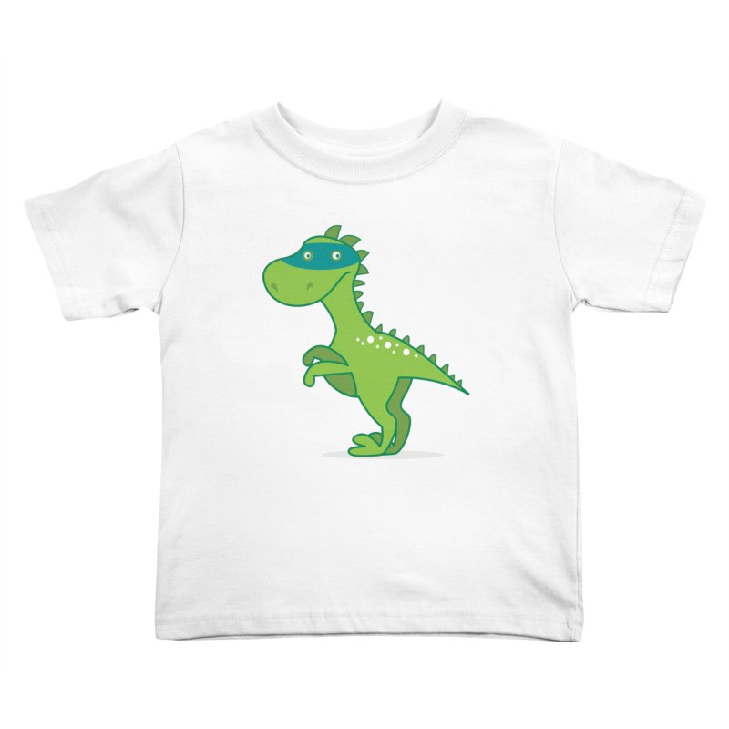SUPER DINO Kids Toddler T-Shirt by CBHstudio's Artist Shop