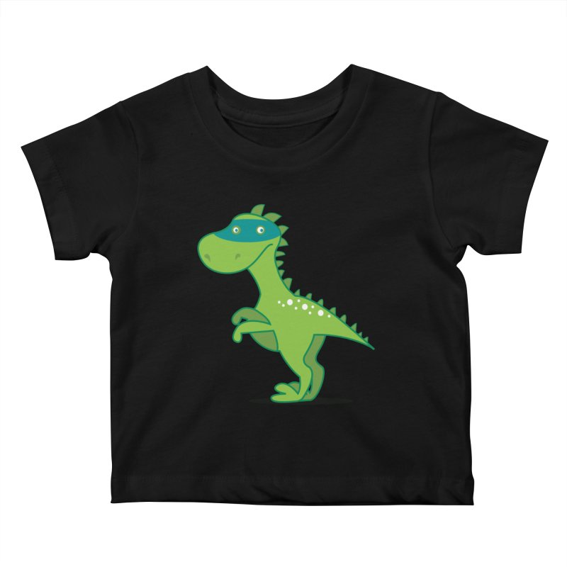 SUPER DINO Kids Baby T-Shirt by CBHstudio's Artist Shop