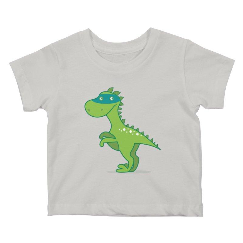 SUPER DINO Kids Baby T-Shirt by CBHstudio's Artist Shop