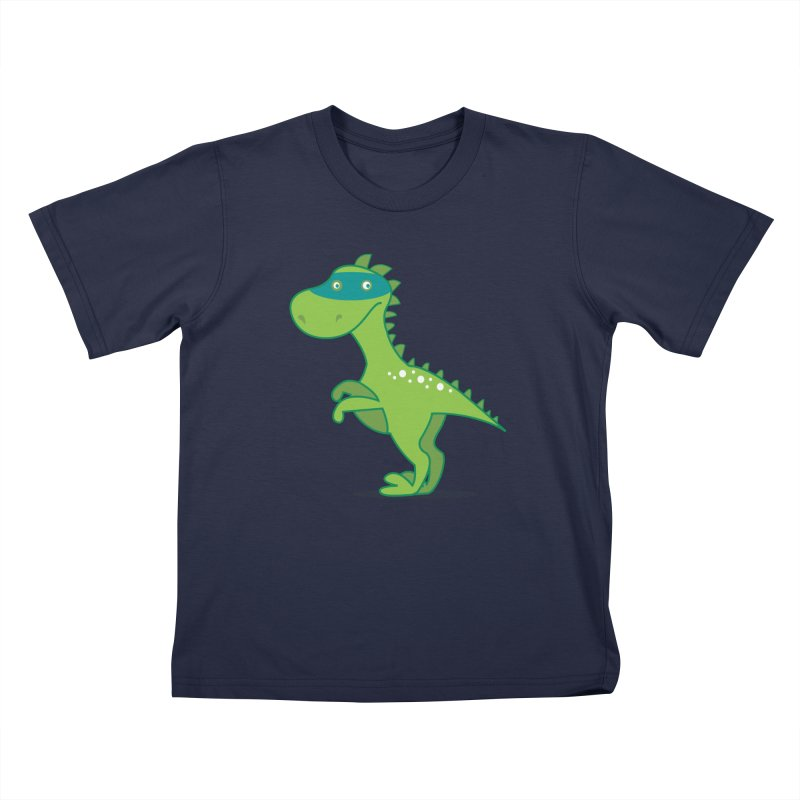 SUPER DINO Kids T-Shirt by CBHstudio's Artist Shop