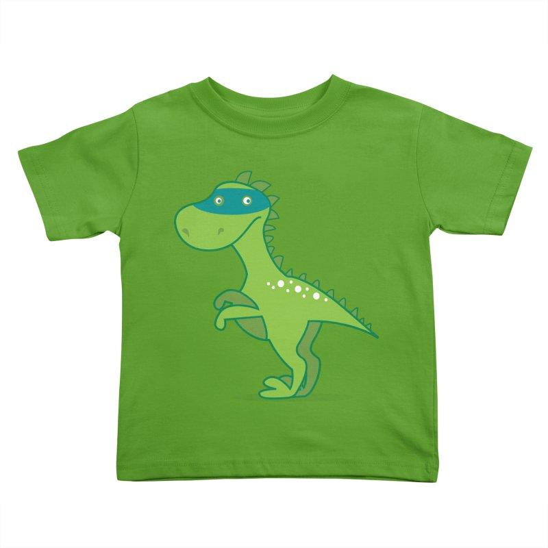SUPER DINO Kids Toddler T-Shirt by CBHstudio's Artist Shop