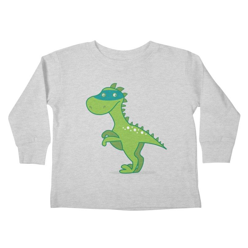 SUPER DINO Kids Toddler Longsleeve T-Shirt by CBHstudio's Artist Shop