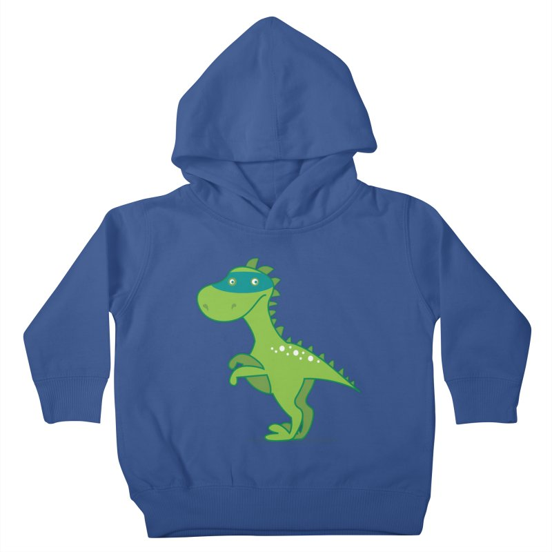 SUPER DINO Kids Toddler Pullover Hoody by CBHstudio's Artist Shop