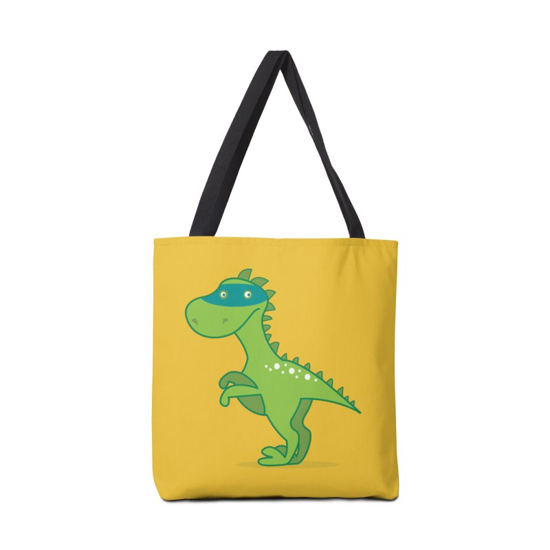SUPER DINO Accessories Bag by CBHstudio's Artist Shop