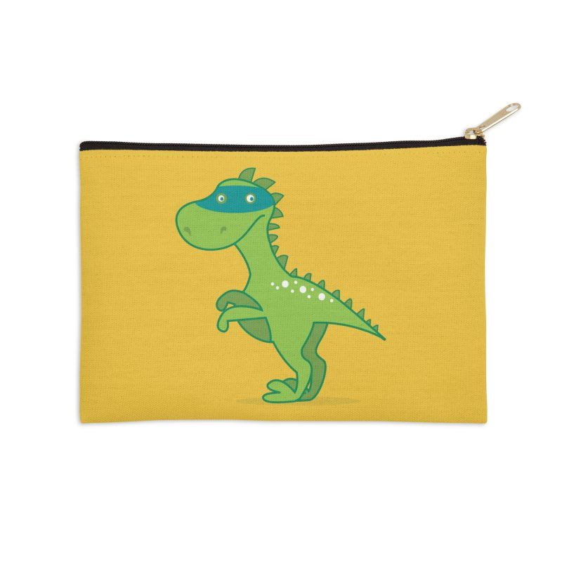 SUPER DINO Accessories Zip Pouch by CBHstudio's Artist Shop