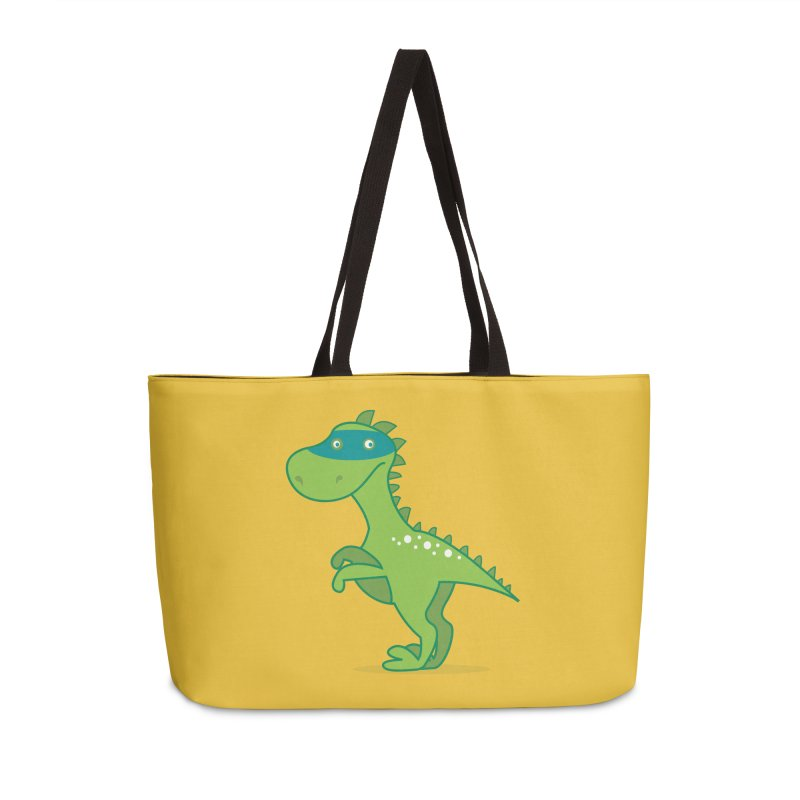 SUPER DINO Accessories Weekender Bag Bag by CBHstudio's Artist Shop