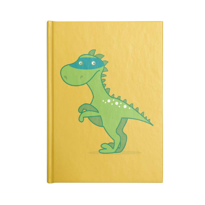 SUPER DINO Accessories Lined Journal Notebook by CBHstudio's Artist Shop