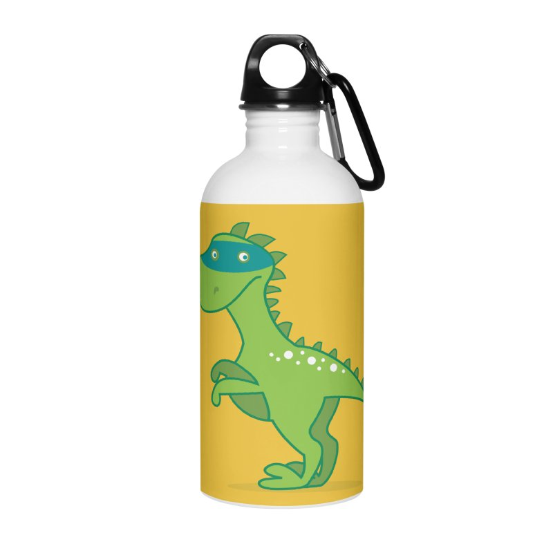 SUPER DINO Accessories Water Bottle by CBHstudio's Artist Shop