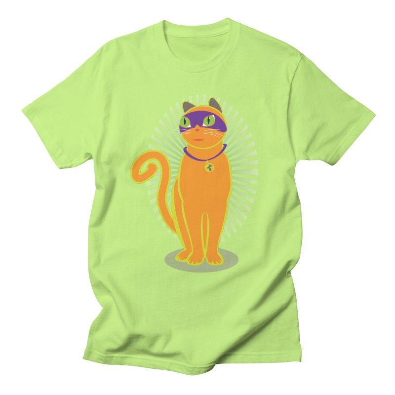 SUPER CAT Men's T-Shirt by CBHstudio's Artist Shop