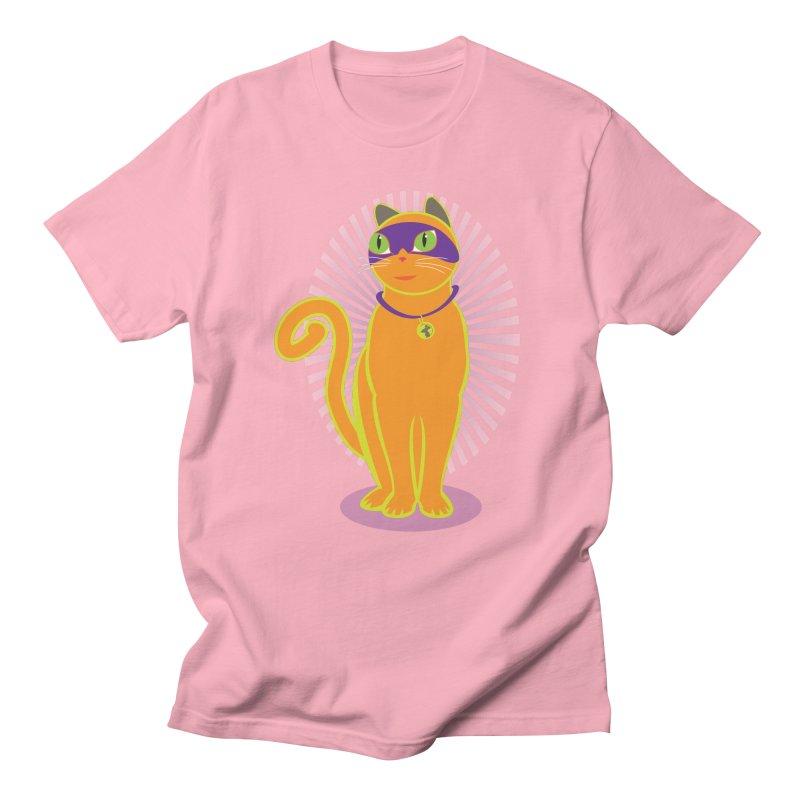 SUPER CAT Men's Regular T-Shirt by CBHstudio's Artist Shop