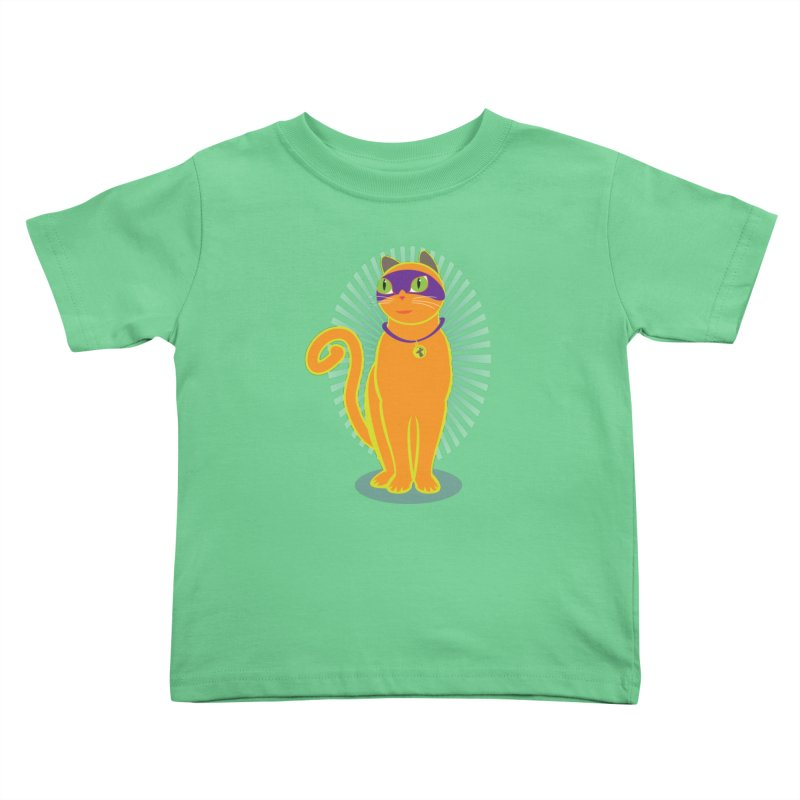 SUPER CAT Kids Toddler T-Shirt by CBHstudio's Artist Shop