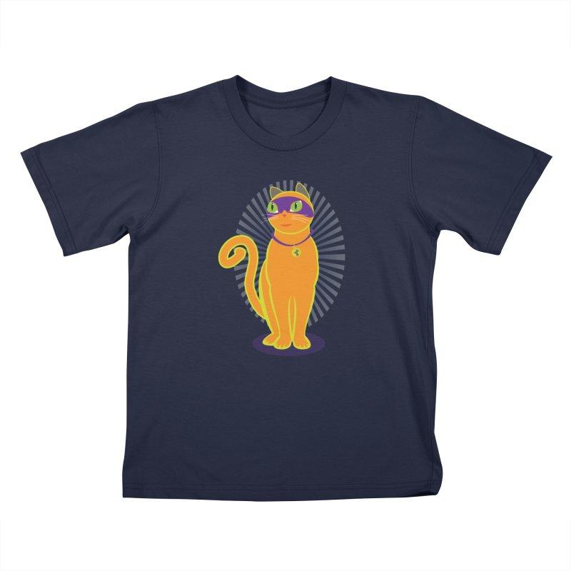 SUPER CAT Kids T-Shirt by CBHstudio's Artist Shop