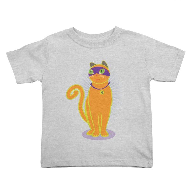 SUPER CAT Kids Toddler T-Shirt by CBHstudio's Artist Shop