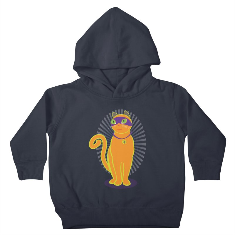 SUPER CAT Kids Toddler Pullover Hoody by CBHstudio's Artist Shop