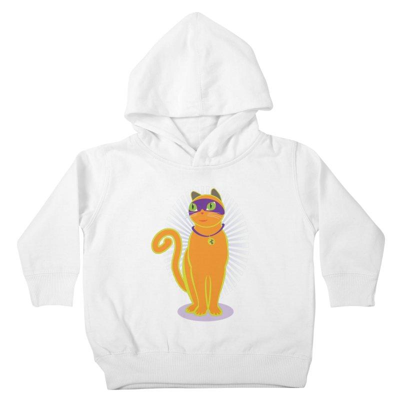 SUPER CAT Kids Toddler Pullover Hoody by CBHstudio's Artist Shop