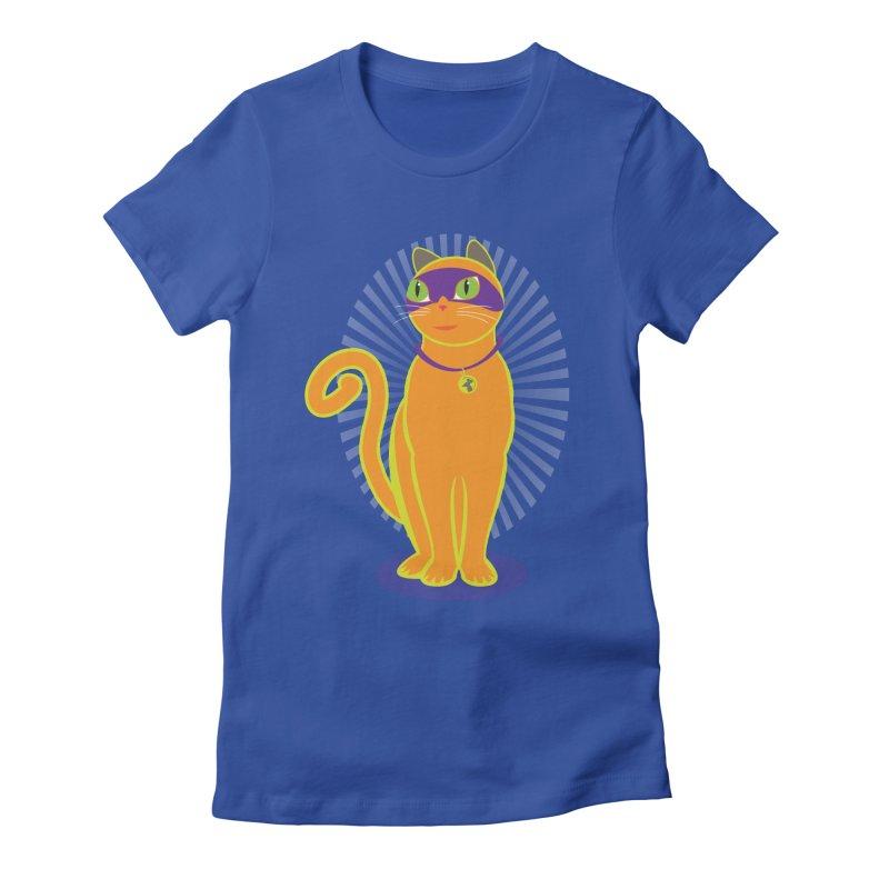 SUPER CAT Women's T-Shirt by CBHstudio's Artist Shop