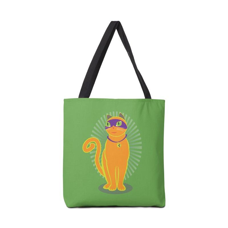 SUPER CAT Accessories Bag by CBHstudio's Artist Shop