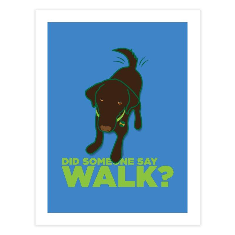 MOXIE the DOG Home Fine Art Print by CBHstudio's Artist Shop