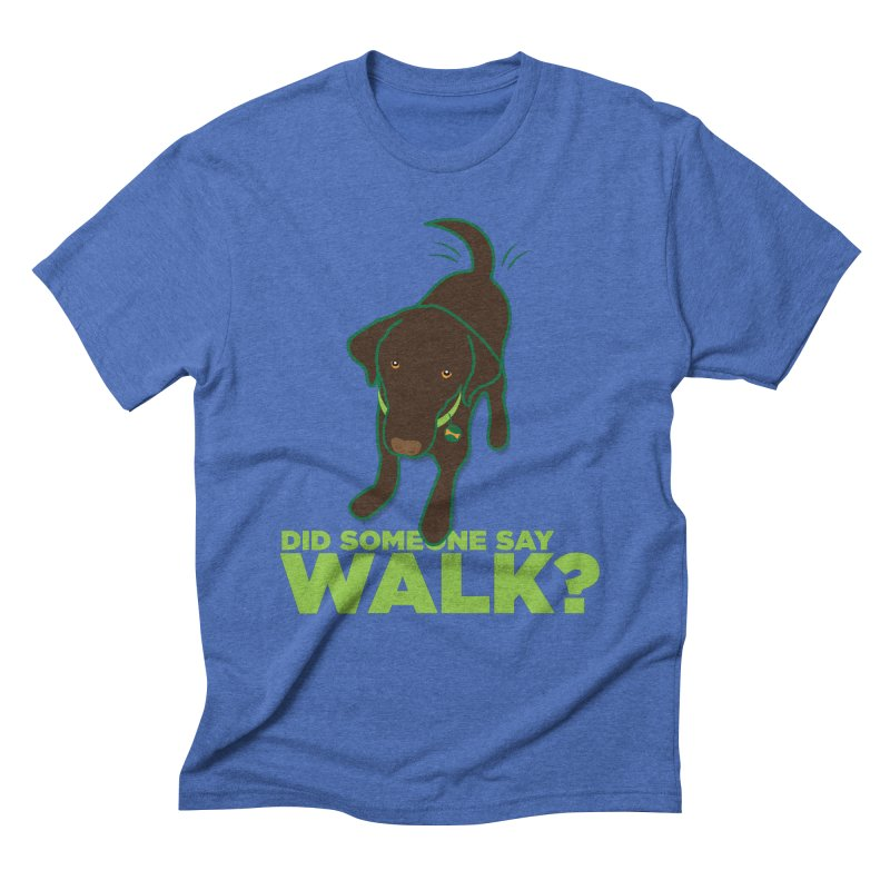 MOXIE the DOG Men's Triblend T-Shirt by CBHstudio's Artist Shop