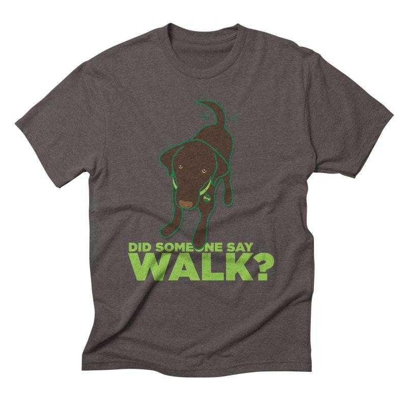 MOXIE the DOG Men's Triblend T-Shirt by CBHstudio's Artist Shop