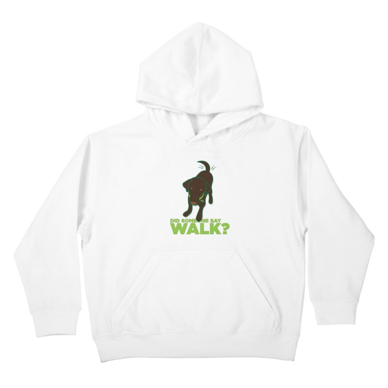 MOXIE the DOG Kids Pullover Hoody by CBHstudio's Artist Shop