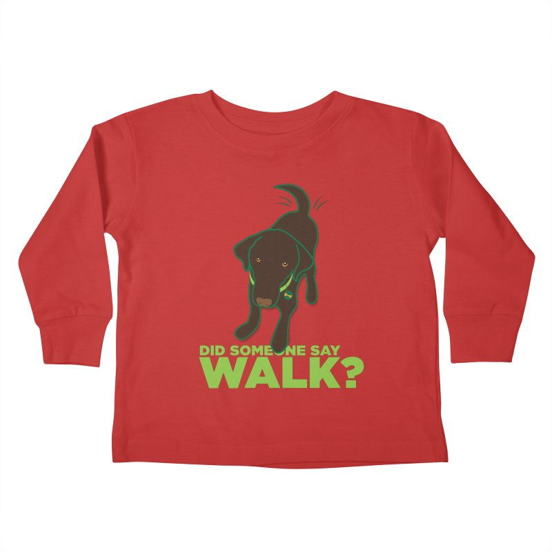 MOXIE the DOG Kids Toddler Longsleeve T-Shirt by CBHstudio's Artist Shop