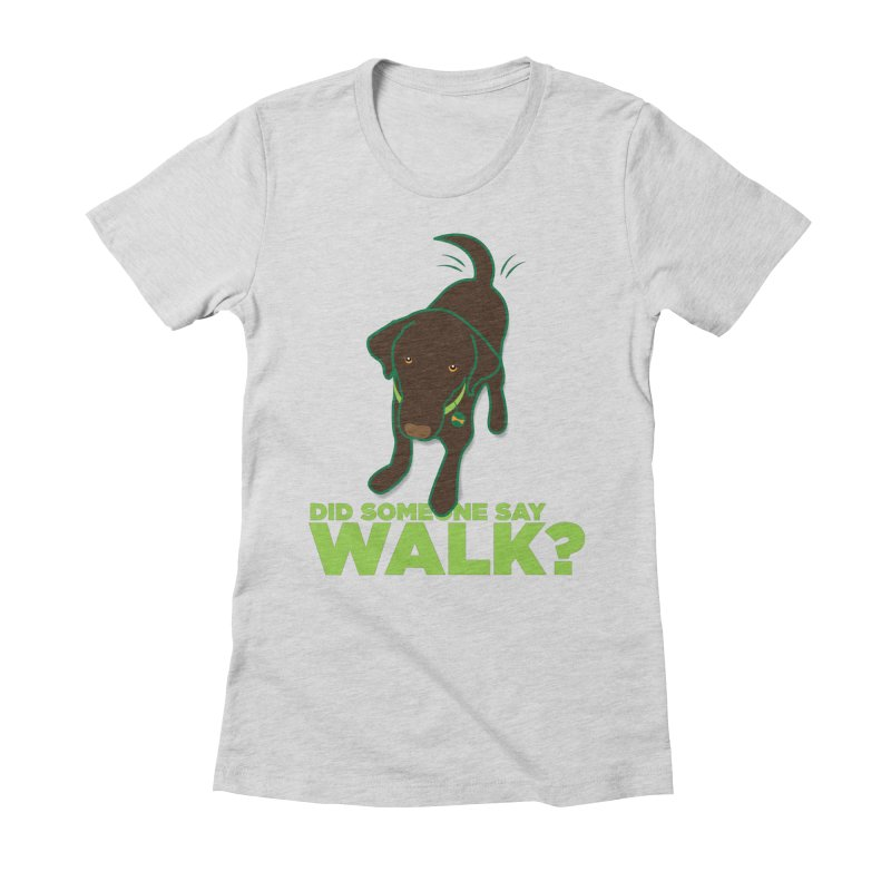 MOXIE the DOG Women's Fitted T-Shirt by CBHstudio's Artist Shop