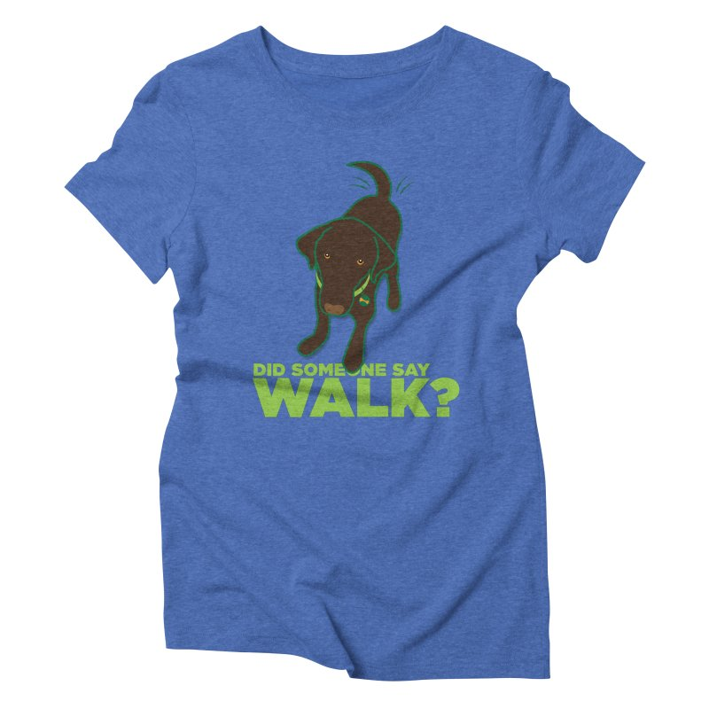 MOXIE the DOG Women's Triblend T-Shirt by CBHstudio's Artist Shop