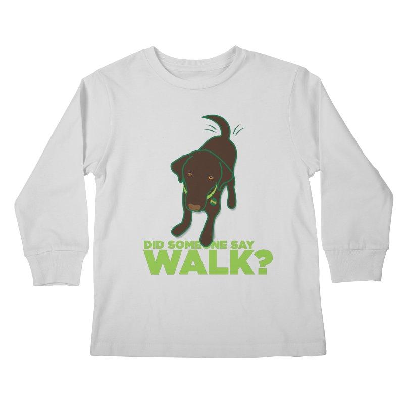 MOXIE the DOG Kids Longsleeve T-Shirt by CBHstudio's Artist Shop