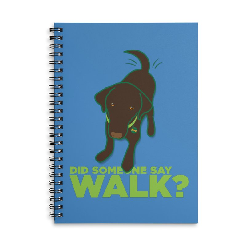 MOXIE the DOG Accessories Lined Spiral Notebook by CBHstudio's Artist Shop