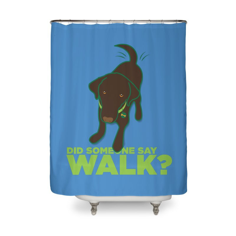 MOXIE the DOG Home Shower Curtain by CBHstudio's Artist Shop