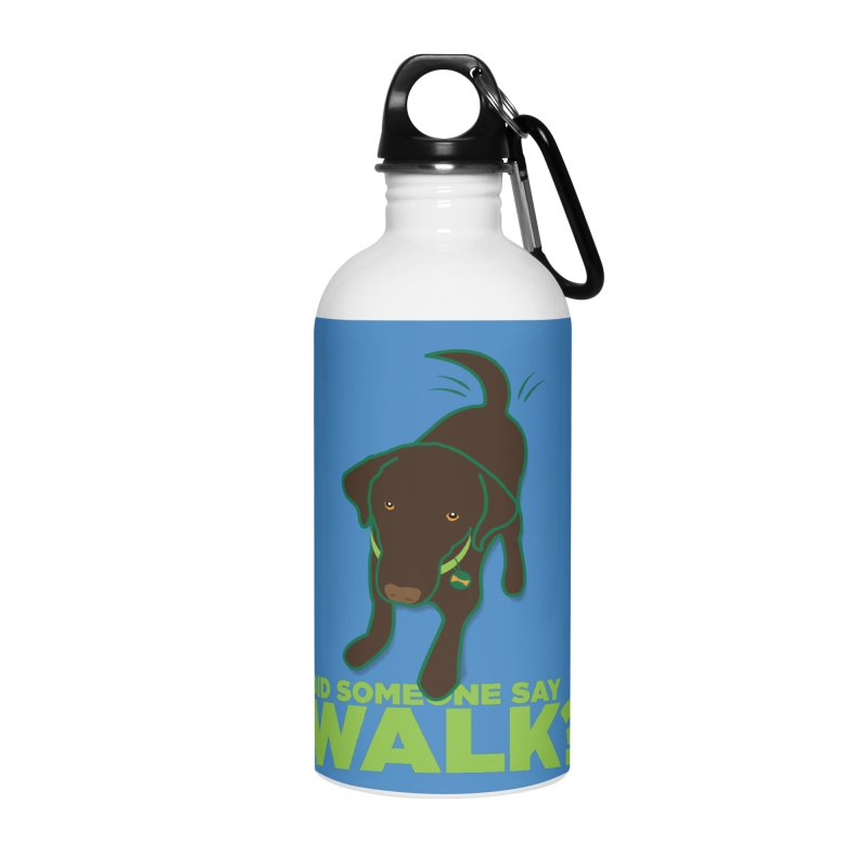MOXIE the DOG Accessories Water Bottle by CBHstudio's Artist Shop