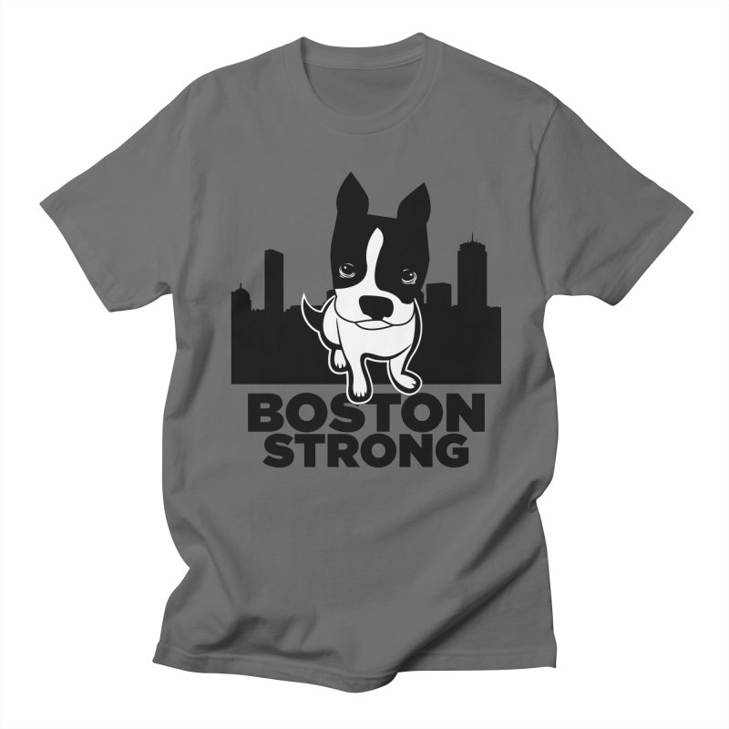BOSTON (Terrier) STRONG Men's Lounge Pants by CBHstudio's Artist Shop