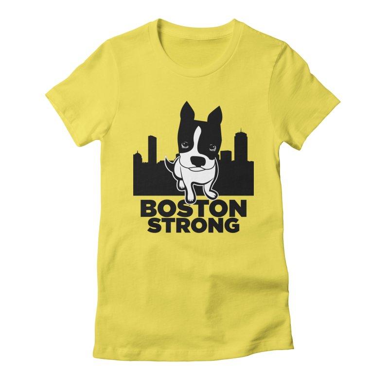 BOSTON (Terrier) STRONG   by CBHstudio's Artist Shop
