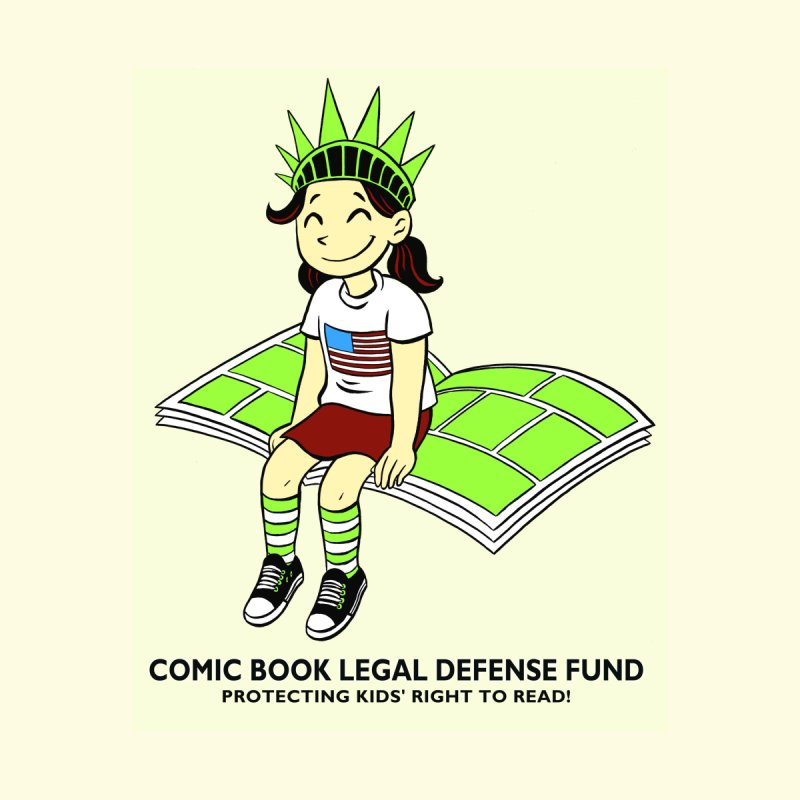 Lil' Libby None  by COMIC BOOK LEGAL DEFENSE FUND