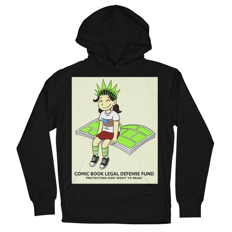 Lil' Libby Women's French Terry Pullover Hoody by COMIC BOOK LEGAL DEFENSE FUND