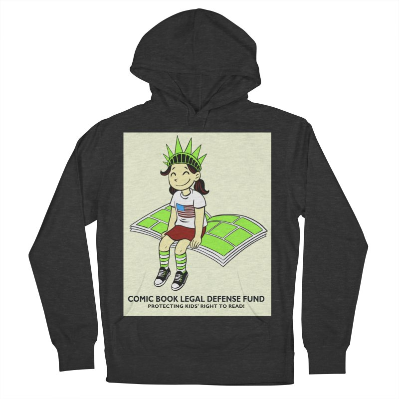 Lil' Libby Men's French Terry Pullover Hoody by COMIC BOOK LEGAL DEFENSE FUND