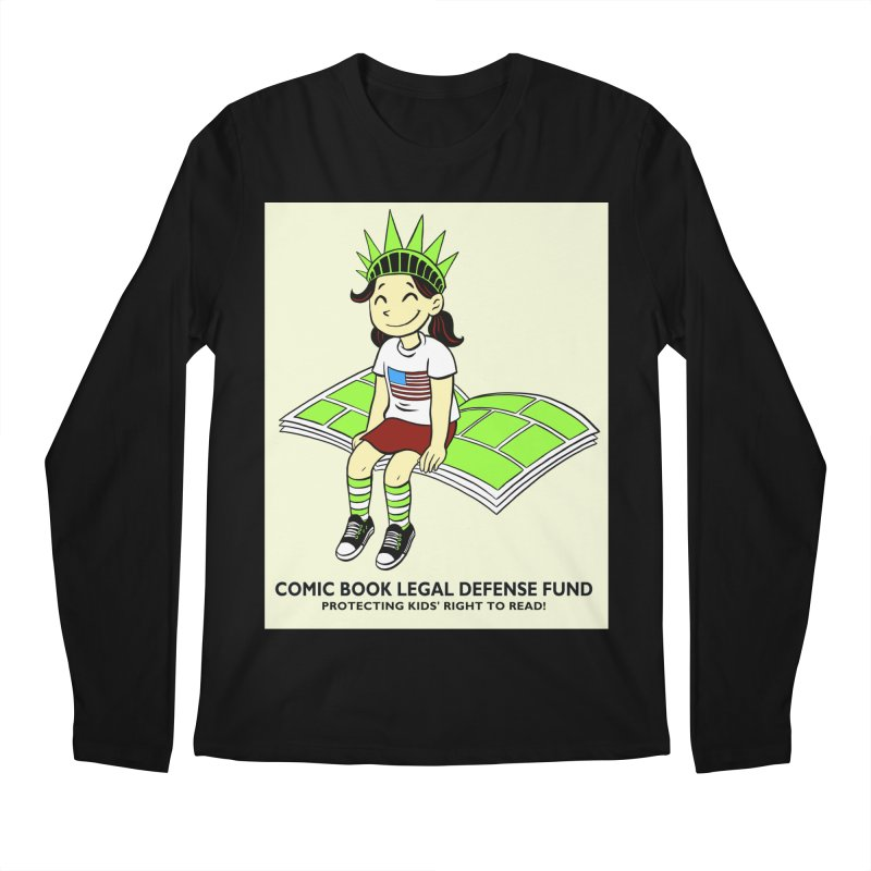 Lil' Libby Men's Longsleeve T-Shirt by COMIC BOOK LEGAL DEFENSE FUND