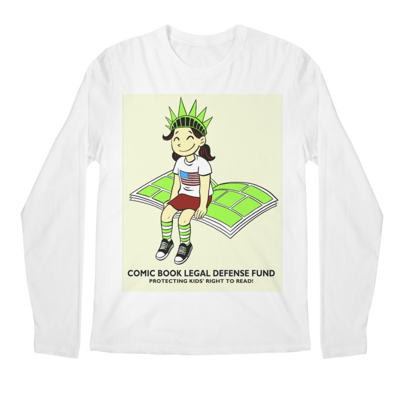 Lil' Libby Men's Regular Longsleeve T-Shirt by COMIC BOOK LEGAL DEFENSE FUND