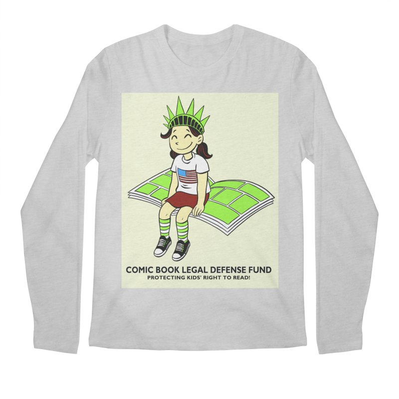 Lil' Libby Men's Regular Longsleeve T-Shirt by COMIC BOOK LEGAL DEFENSE FUND