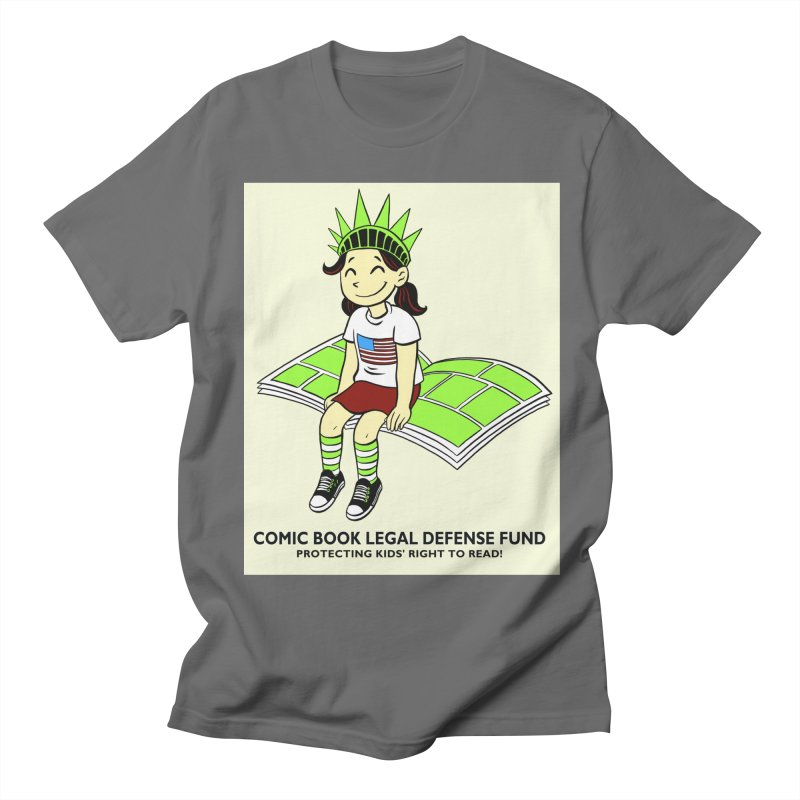 Lil' Libby Women's Regular Unisex T-Shirt by COMIC BOOK LEGAL DEFENSE FUND
