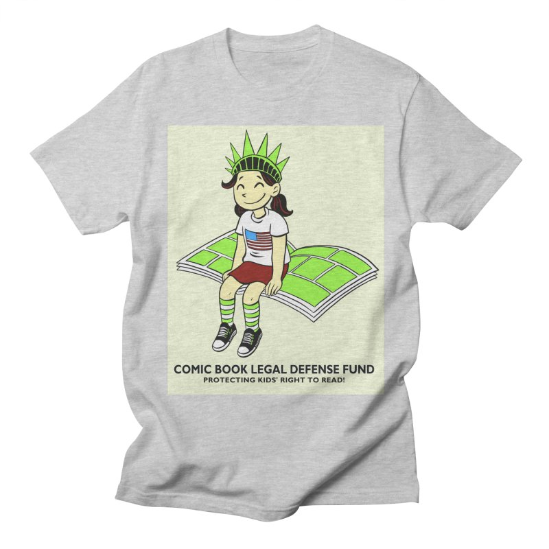 Lil' Libby Women's Unisex T-Shirt by COMIC BOOK LEGAL DEFENSE FUND