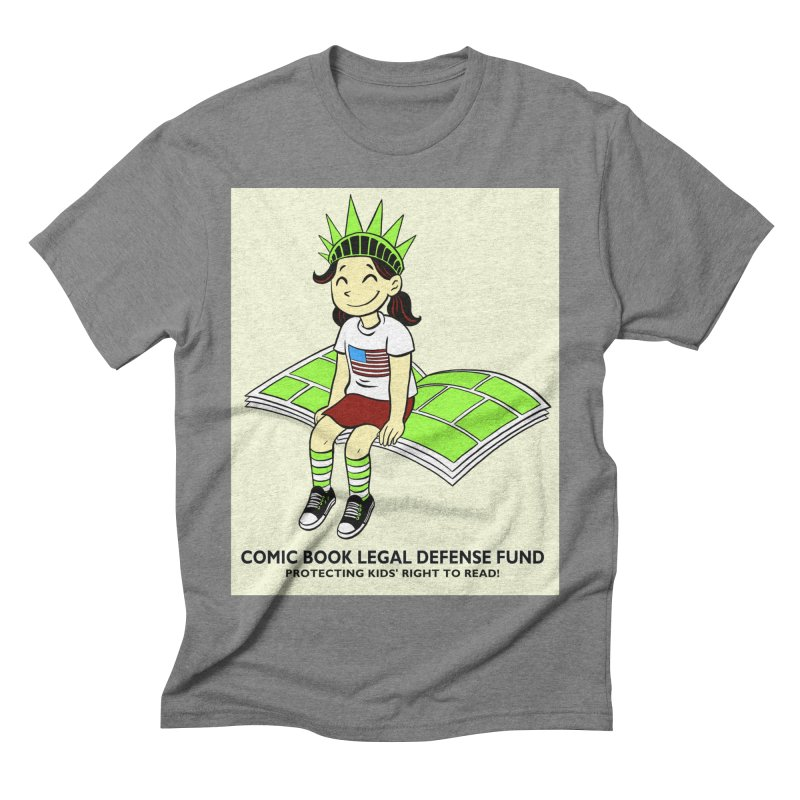 Lil' Libby Men's Triblend T-shirt by COMIC BOOK LEGAL DEFENSE FUND
